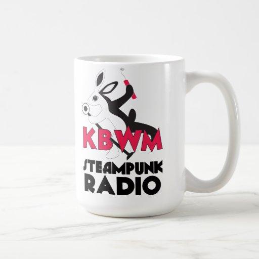 Taza de café de la estación de radio de KBWM Steam