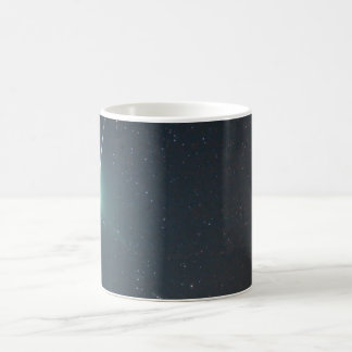 Taza de café de la estrella fugaz taza básica blanca