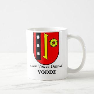 Taza de café de la FAMILIA de VODDE