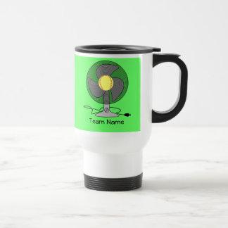 Taza de café de la fan del softball de Fastpitch