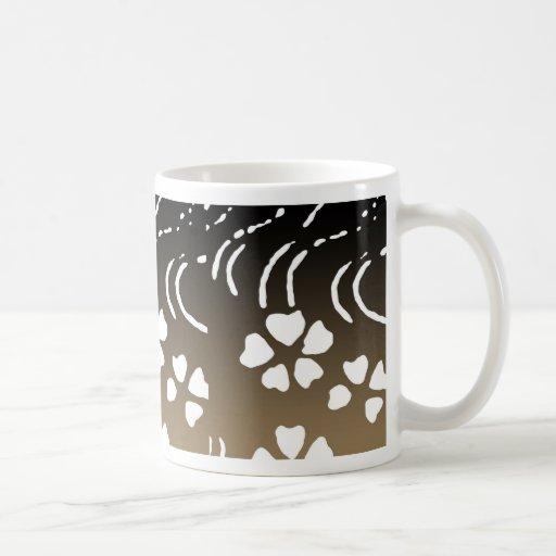 Taza de café de la flor de Lotus