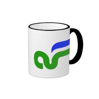 Taza de café de la Florida del aire