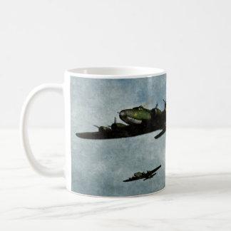 Taza de café de la fortaleza del vuelo B17