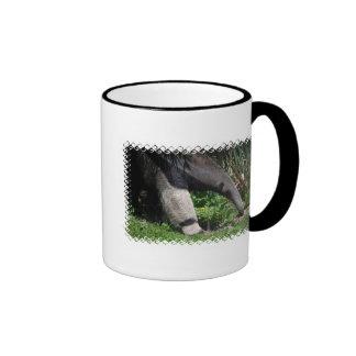 Taza de café de la foto del Anteater gigante