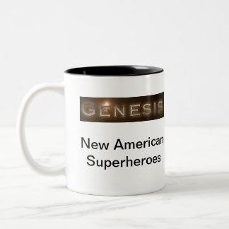 """Taza de café de la """"génesis"""" de Taige"""