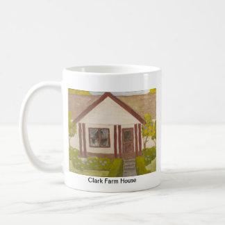 Taza de café de la granja de la familia de Clark