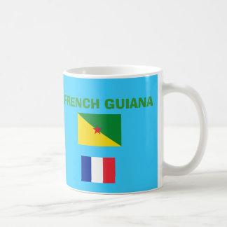 Taza de café de la Guayana Francesa GF