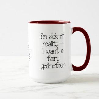 Taza de café de la hada madrina