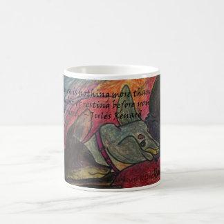 Taza de café de la holgazanería por el estudio Bur