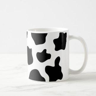 Taza de café de la impresión de la vaca el   Perso