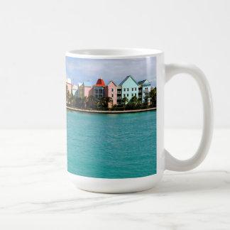Taza de café de la isla del paraíso
