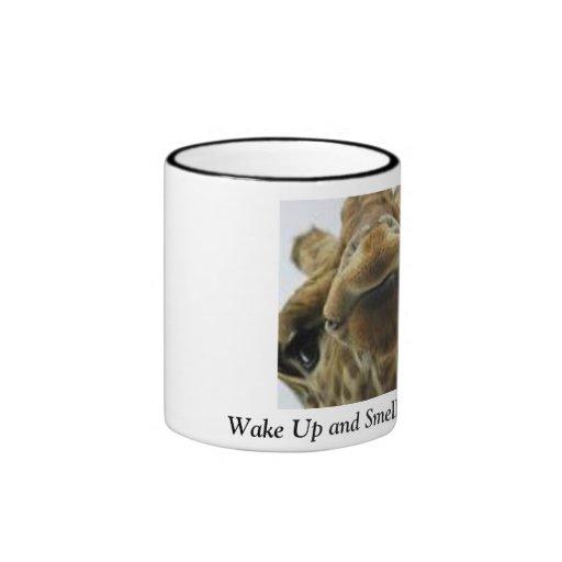 Taza de café de la jirafa