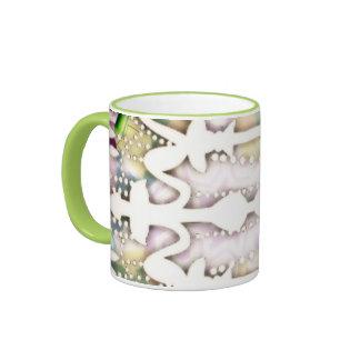 Taza de café de la lámpara