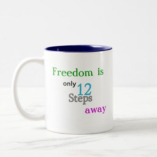Taza de café de la libertad del paso del AA 12