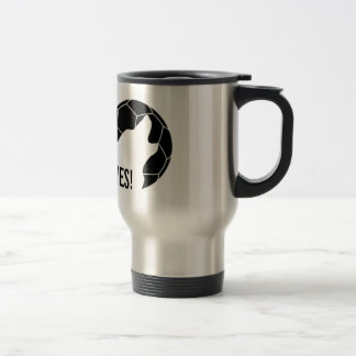 Taza de café de la línea lateral