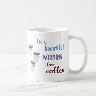 Taza de café de la lluvia de Hahn