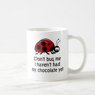 Taza de café de la mariquita del amante del