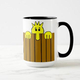 Taza de café de la mirada furtiva Tom