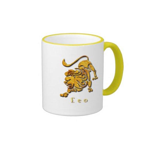Taza de café de la muestra de Leo