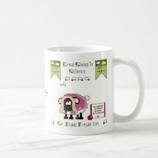 Taza de café de la N-oveja-tonelada de sir Isaac