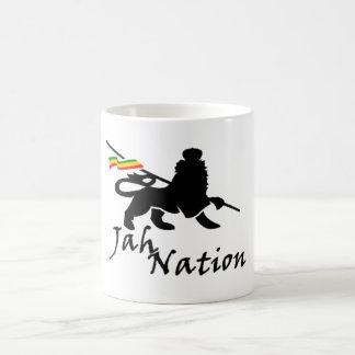 Taza de café de la nación de Jah
