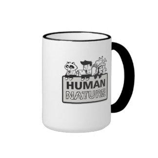 Taza de café de la naturaleza humana