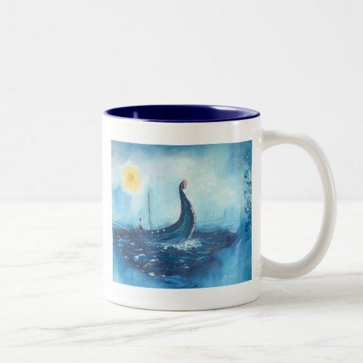 Taza de café de la nave de Viking