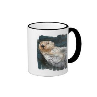 Taza de café de la nutria de mar
