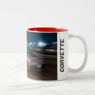 Taza de café de la pastinaca del Corvette