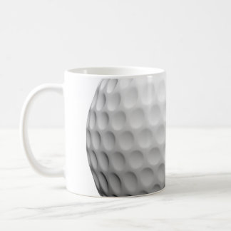 Taza de café de la pelota de golf