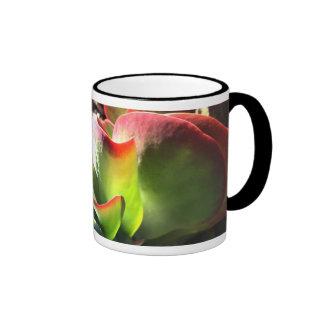 Taza de café de la planta de la paleta