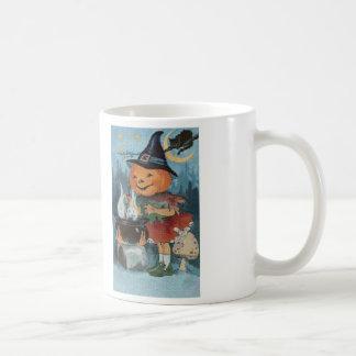 Taza de café de la puntada de la cruz del paseo de