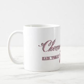 Taza de café de la quimioterapia