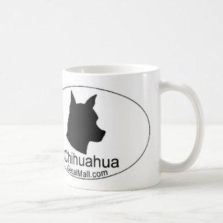 Taza de café de la regla de las chihuahuas