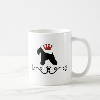 Taza de café de la regla de los Schnauzers
