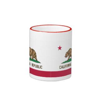 TAZA DE CAFÉ DE LA REPÚBLICA DE CALIFORNIA