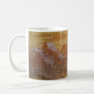 Taza de café de la respiración