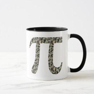 Taza de café de la roca pi