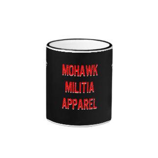 Taza de café de la ROPA de la MILICIA del MOHAWK
