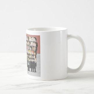 Taza de café de la sección J