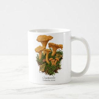 Taza de café de la seta del mízcalo