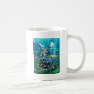 Taza de café de la sirena