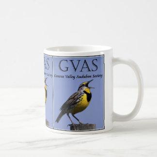 Taza de café de la sociedad de Audubon del valle d