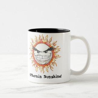 Taza de café de la sol de G Mornin