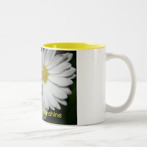 Taza de café de la sol de la buena mañana