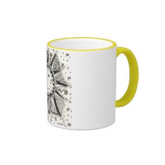 Taza de café de la sol del zen