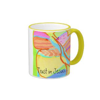 """Taza de café de la sopa de la mariposa"""