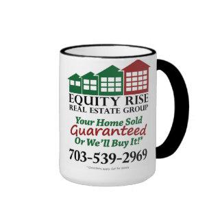 Taza de café de la subida 15oz de la equidad