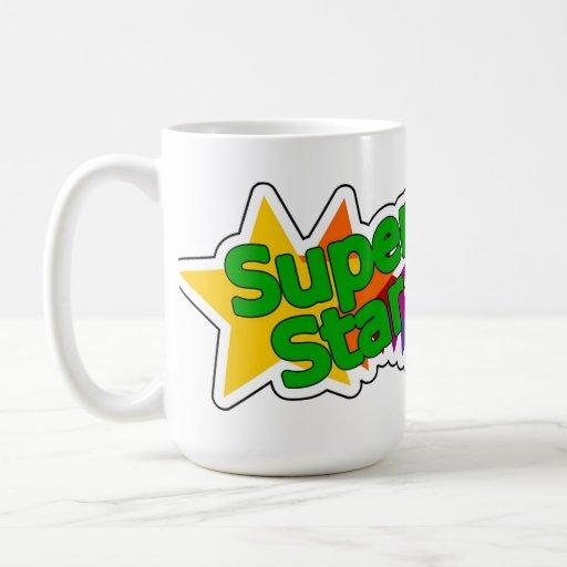 Taza de café de la superestrella