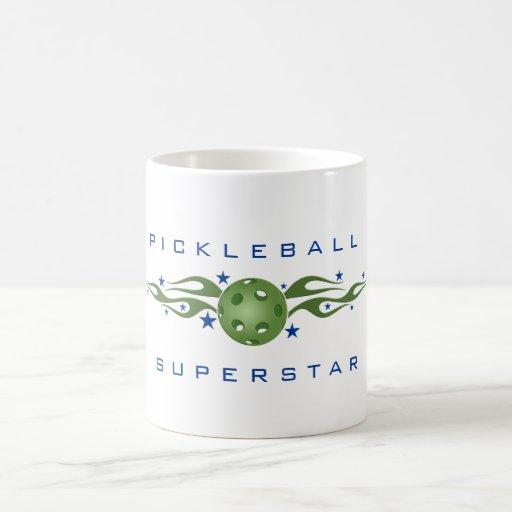 Taza de café de la superestrella de Pickleball
